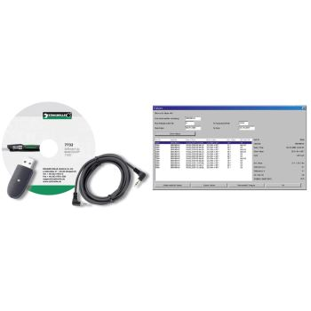 USB Adapter, Klinkensteckerkabel und Software zu