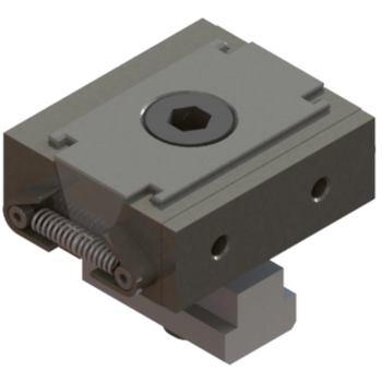 Keilspanner mit Aufmaß inkl. Nutenstein 40 x 15 mm M 8