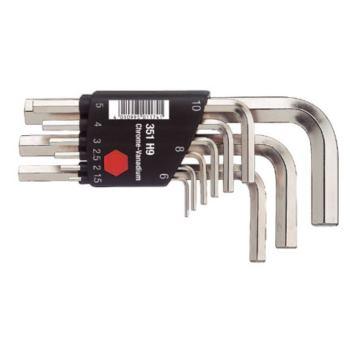 Sechskant-Stiftschlüsselsatz im Compact Halter.