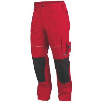 Bundhose Starline® Plus rot/schwarz Gr. 48