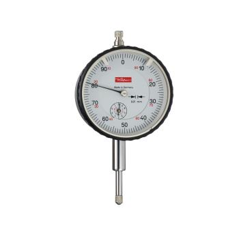 Messuhr 0,01mm / 10mm / 58mm / Feststelleinrichung/ ISO 463 - DIN 878 10257