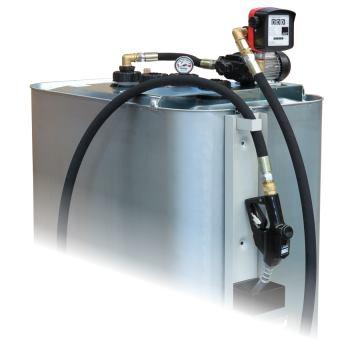 Tankanlage EP 140-AZ mit Zähler und 8 m Abgabeschl