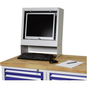 PC-Halter HxBxT 150x210x675mm seitlich m.Rechte