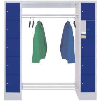 Schließfach-Garderoben, H x B x T 1850x2300x500 mm