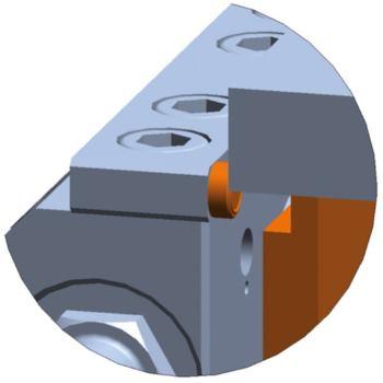 Einspanntiefe 3 mm Komplett-Set H 105 mm