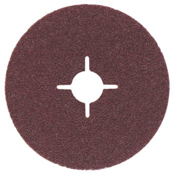 Fiberscheibe 125 mm P 50, Normalkorund, Stahl, NE-