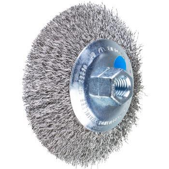 Kegelbürste mit Gewinde, ungezopft POS KBU 11510/M14 INOX 0,35