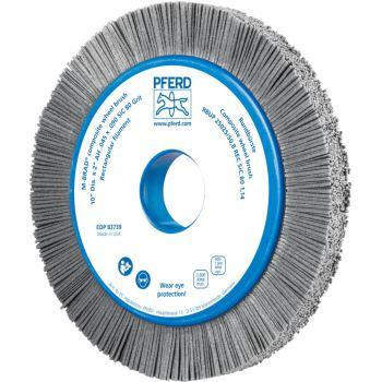Rundbürste mit Plastikkörper, ungezopft RBUP 25025/50,8 REC SiC 80 1,14