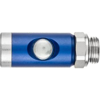 Selbstabstellende Ventilkupplung mit Außengewinde SVKA 1/2 DK