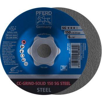 CC-Grind®-SOLID-Schleifscheibe CC-GRIND-SOLID 150 SG-STEEL
