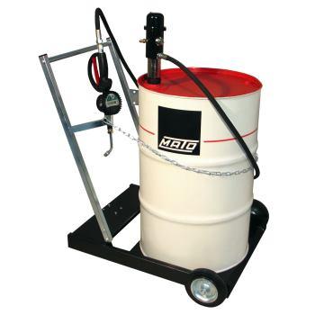 pneuMATO 3 fahrbar eichfähig für 200 l Ölfässer m