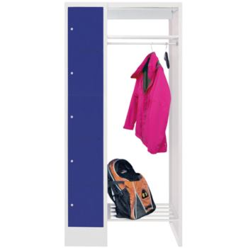 Schließfach-Garderoben, H x B x T 1850x1200x500 mm