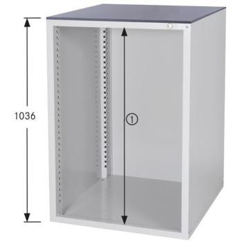 Schrankgehäuse System 800 S, HxBxT 1036x722x800