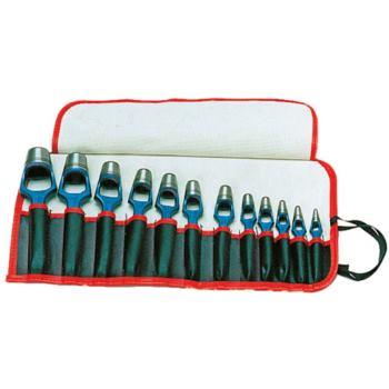 Henkellocheisen 12-teilig 3 - 25mm DIN 7200 A 3,5, 6,8,10,12,13,14,16,19,22