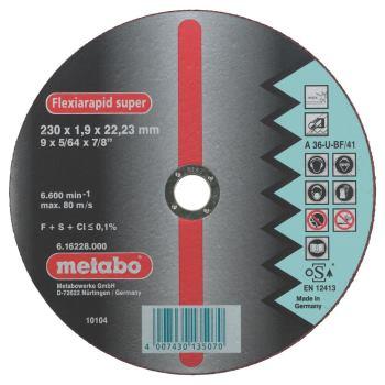 Flexiarapid super 115x0,8x22,23 mm, Inox, Trennsch