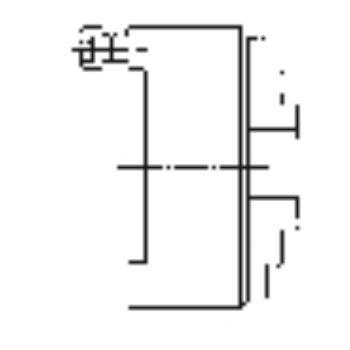 ZS 500, 3-Backen, DIN 6350, Form A, Stahlkörper