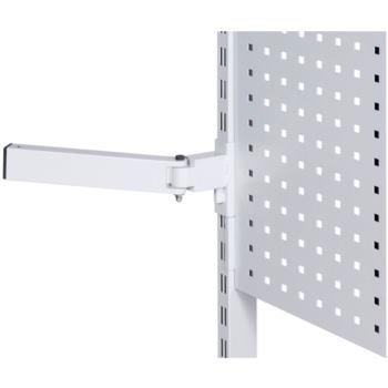 1-Gelenk-Schwenkarm RAL 7035 lichtgrau