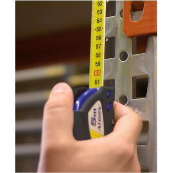 Taschen-Rollbandmaß 5 m mit VERTIKAL-Teilung