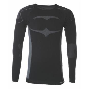 Longshirt Active schwarz/grau Gr. S/M