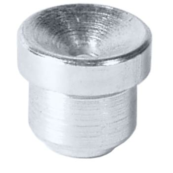 Trichter-Schmiernippel D1a 6 mm DIN 3405 VPE 2