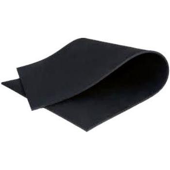Gummiadaptermatte 3x200x300 mm, schwarz 2450
