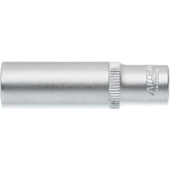 """1/4""""Zoll Steckschlüsseleinsatz Ø 13 mm DIN 3124 lange Ausführung"""