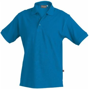 Polo-Shirt royal Gr. 5XL