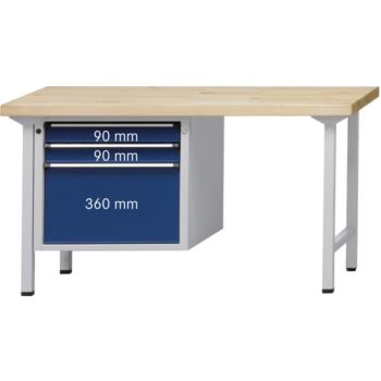 ANKE Kombi-Werkbank Mod.722V Platte m.Universalbel
