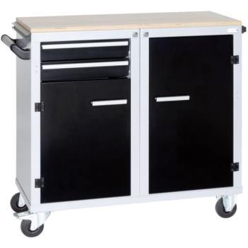 CLIP-O-FLEX Rollwerkbänke m.komfortablen Auszugsys
