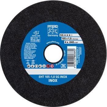 Trennscheibe EHT 105-1,0 A 60 R SG-INOX/16,0