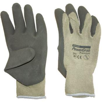 Schutzhandschuhe Strick mit Teil-Latexbeschichtung