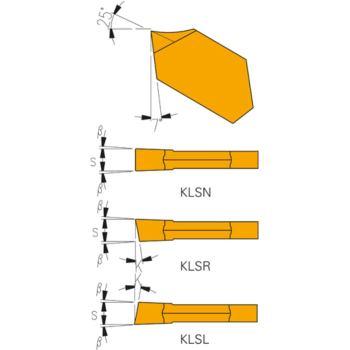 Hartmetall Stecheinsätze KLSN-3 HSS-TIN