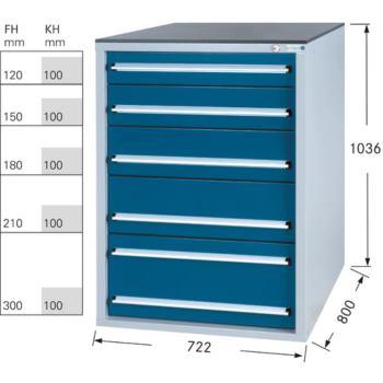 Werkzeugschrank System 800 S, Modell 32/5 GS -
