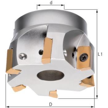 ATORN Eckfräser 90 Grad für APKT/APHT16 Durchmesse
