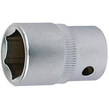 Steckschlüsseleinsatz 23 mm 1/2 Inch DIN 3124 Sech skant