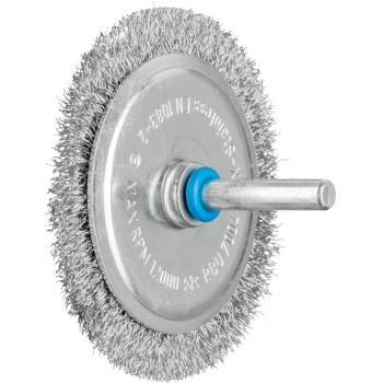Rundbürste mit Schaft, ungezopft RBU 7004/6 INOX 0,20