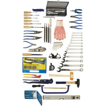 Werkzeugsortiment 78-teilig für Industriemechanike