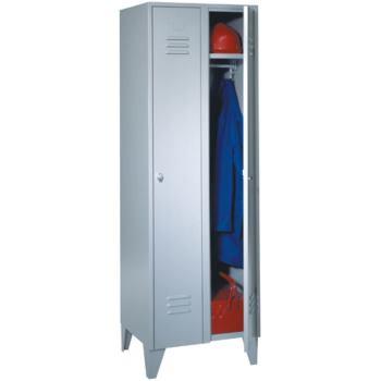 Kleiderschrank aus Stahlblech 2teilig 1850x600x500