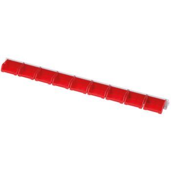 Einhängeleiste 955 mm bestückt mit 9 Stück Sich