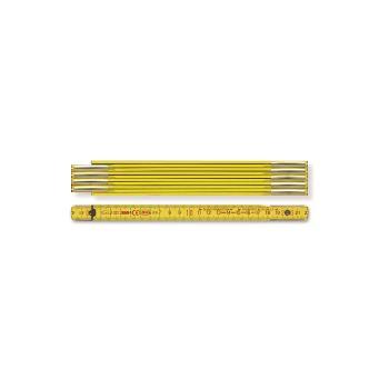 Holzgliedermaßstab Länge 1 m, gelb 971900100