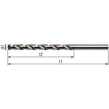 Spiralbohrer DIN 340 5,1 mm Typ VA HSSE