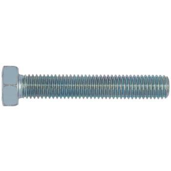 Sechskantschraube mit Gewinde bis Kopf ISO 4017 Stahl 8.8 verzinkt M16 x 60 50 Stück