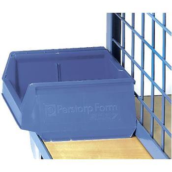Sichtlagerkasten 300x230x150mm Polypropylen blau,