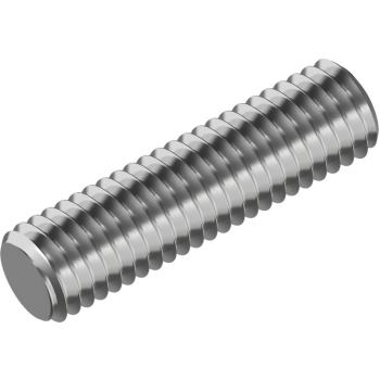 Gewindebolzen / Gewindestangen DIN 976-B A2 Form B M 6x 55