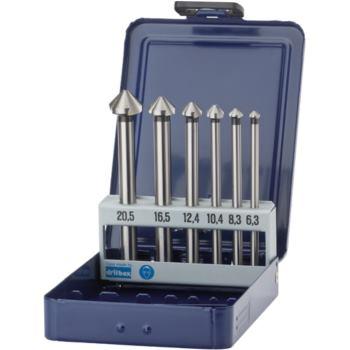 Kegelsenker 3-schneidig 90 Grad 100 mm/D=6,3-20,5 in Metallkassette