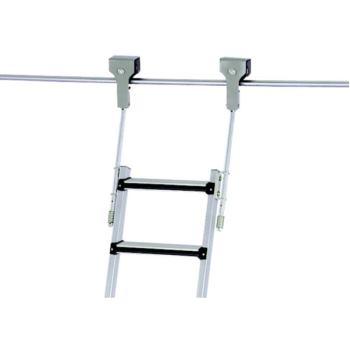 Regalleiter fahrbar Z 600 9 Stufen Einhänge