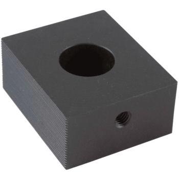 Feste Backe geriffelt inkl. Nutenstein 22 x 15 mm M 8