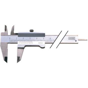 Messschieber Schieblehre INOX 100 mm mit Feststellschraube
