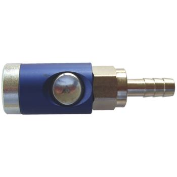 Sicherheitskupplung mit Knopf, Schlauchanschl. LW9
