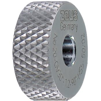 PM-Rändel DIN 403 GV 15 x 6 x 4 mm Teilung 0,8